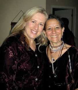 Debbie Nargi-Brown & Copperwoman, singing buddies