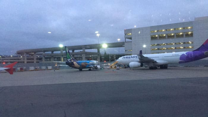 Leaving SF Airport