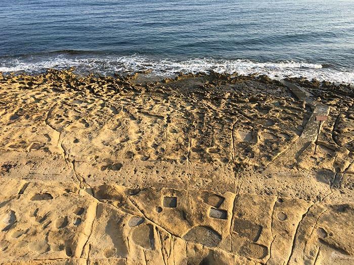 Sculpted shore
