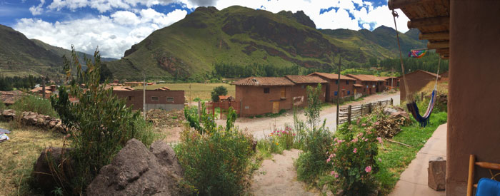 Pano from the front porch