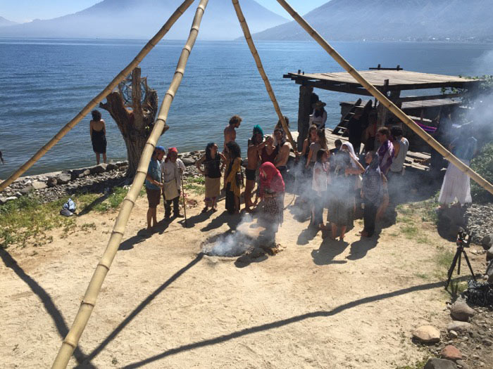 Water Ceremony Fire