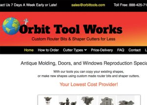 Orbit Tool Works website image